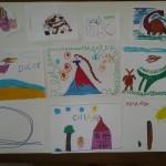 alcune opere dei bambini